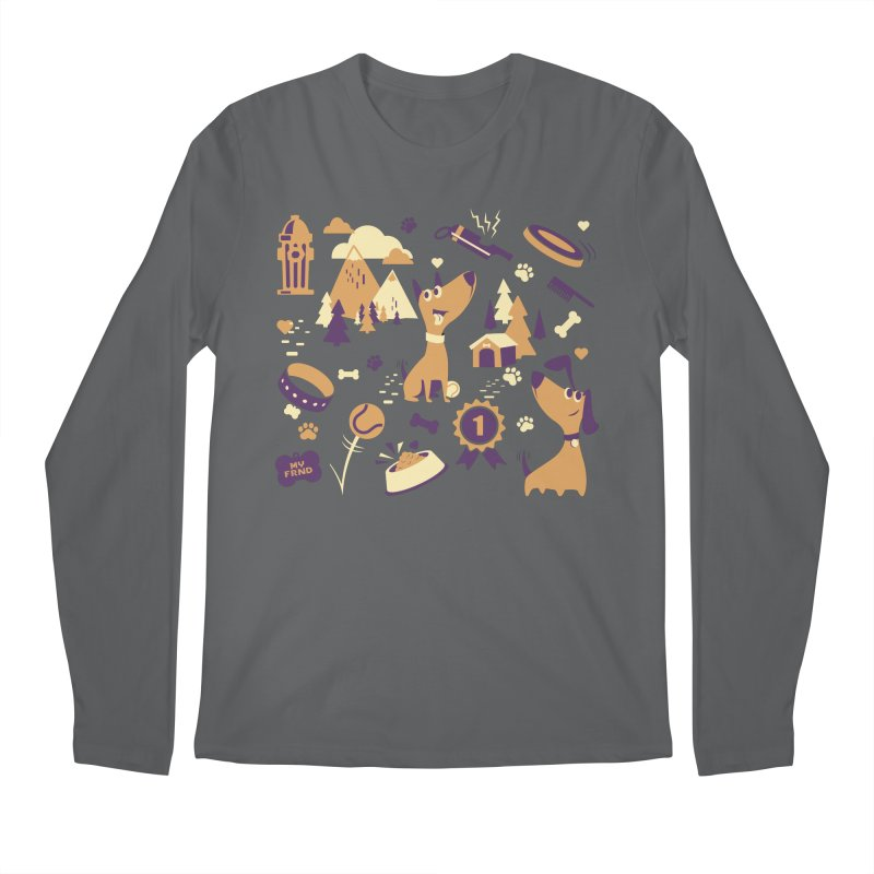 DogLover v2 Men's Longsleeve T-Shirt by Rocket Artist Shop