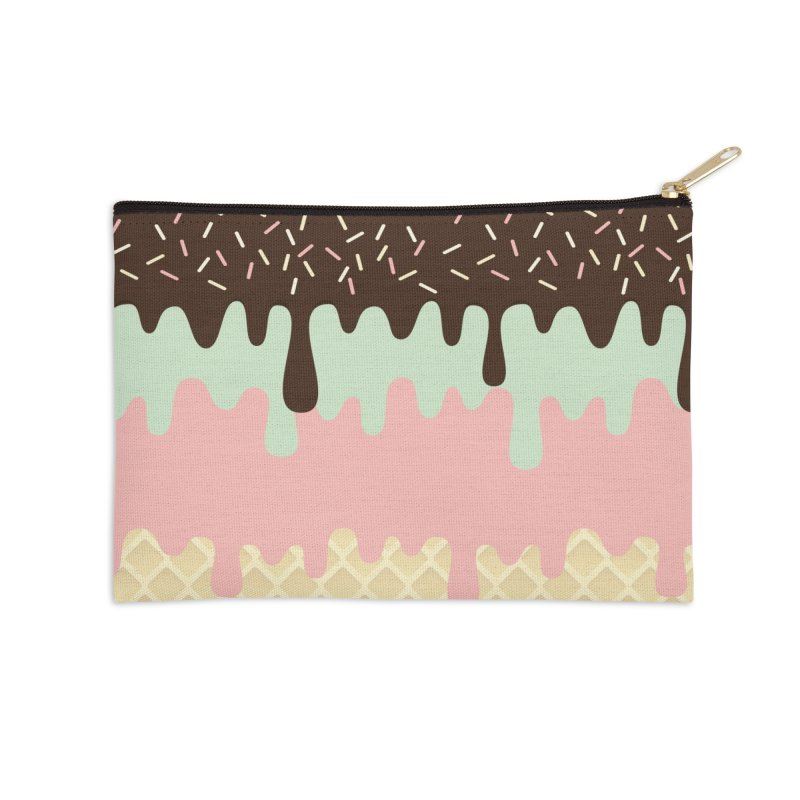 NAPOLITANO Accessories Zip Pouch by Rocket Artist Shop