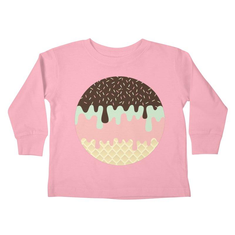 NAPOLITANO Kids Toddler Longsleeve T-Shirt by Rocket Artist Shop