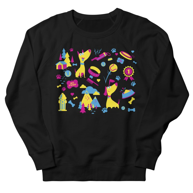 Dog Lover (cmyk) Men's Sweatshirt by Rocket Artist Shop