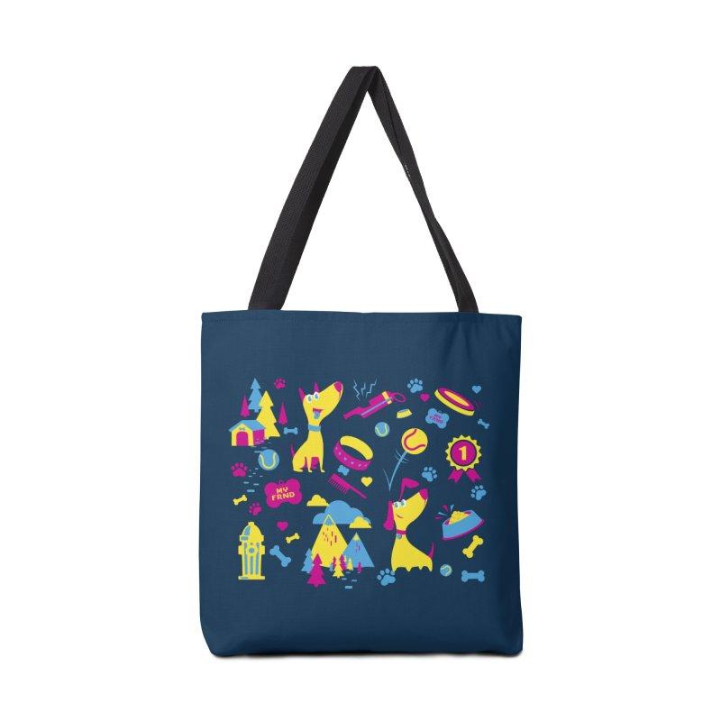 Dog Lover (cmyk) Accessories Bag by Rocket Artist Shop