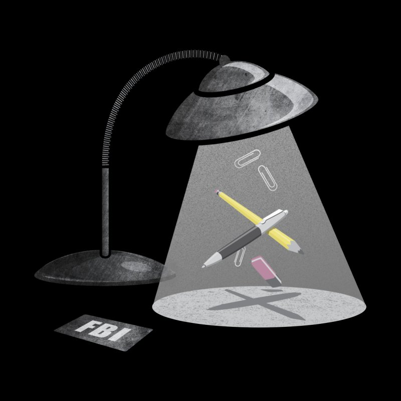 Desktop Abduction   by Rocket Artist Shop