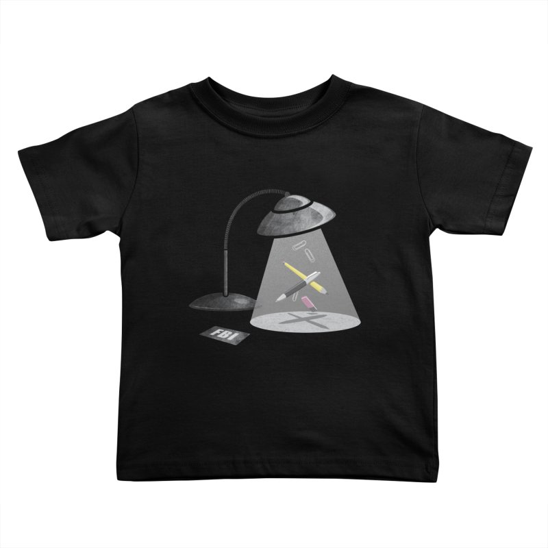 Desktop Abduction Kids Toddler T-Shirt by Rocket Artist Shop