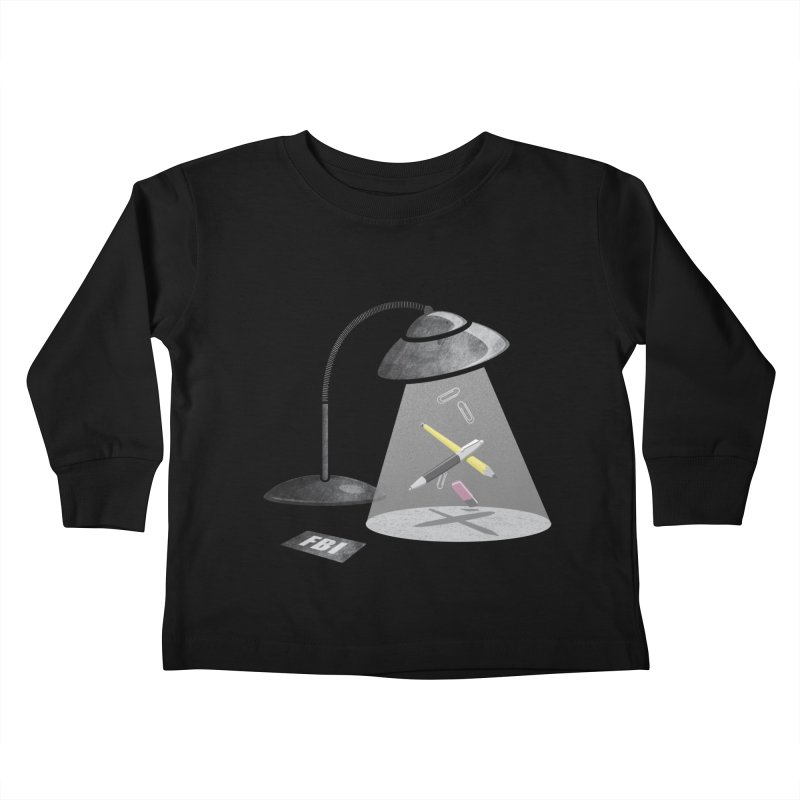 Desktop Abduction Kids Toddler Longsleeve T-Shirt by Rocket Artist Shop