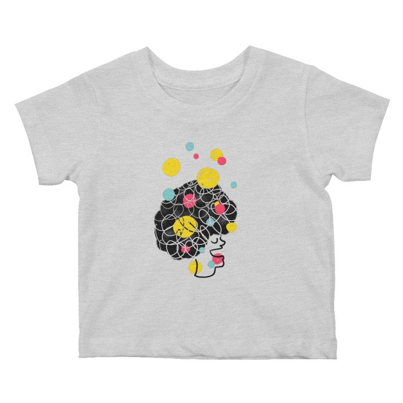 CREATIVE MINDS Kids Baby T-Shirt by Rocket Artist Shop