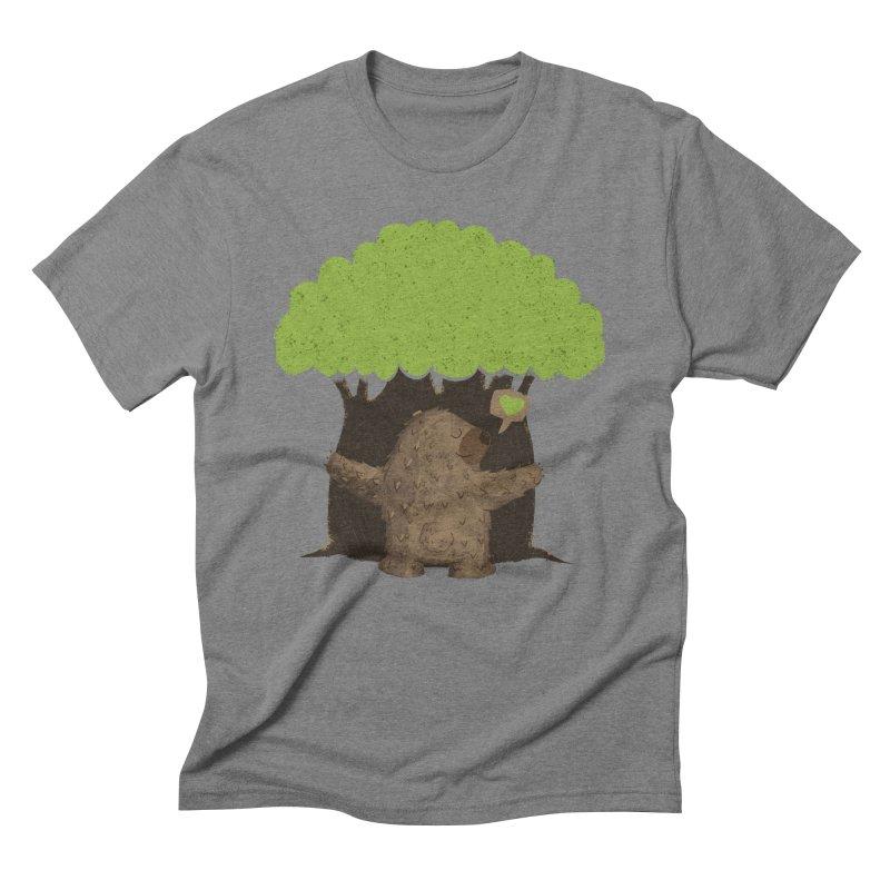 TREE HUG Men's T-Shirt by Rocket Artist Shop