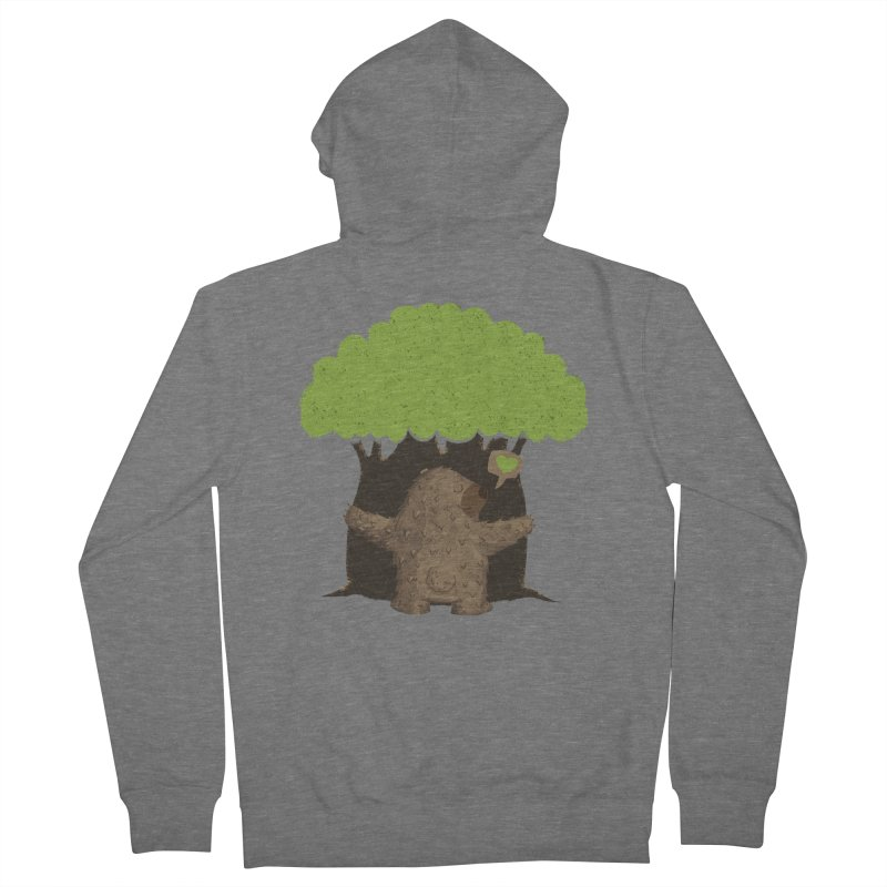 TREE HUG Men's Zip-Up Hoody by Rocket Artist Shop