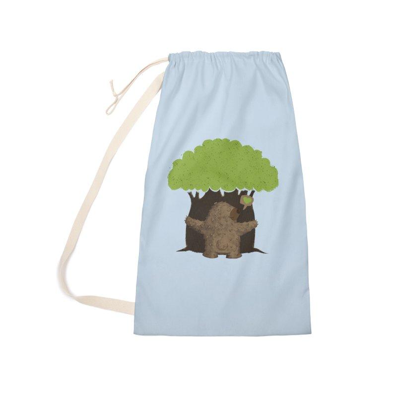 TREE HUG Accessories Bag by Rocket Artist Shop