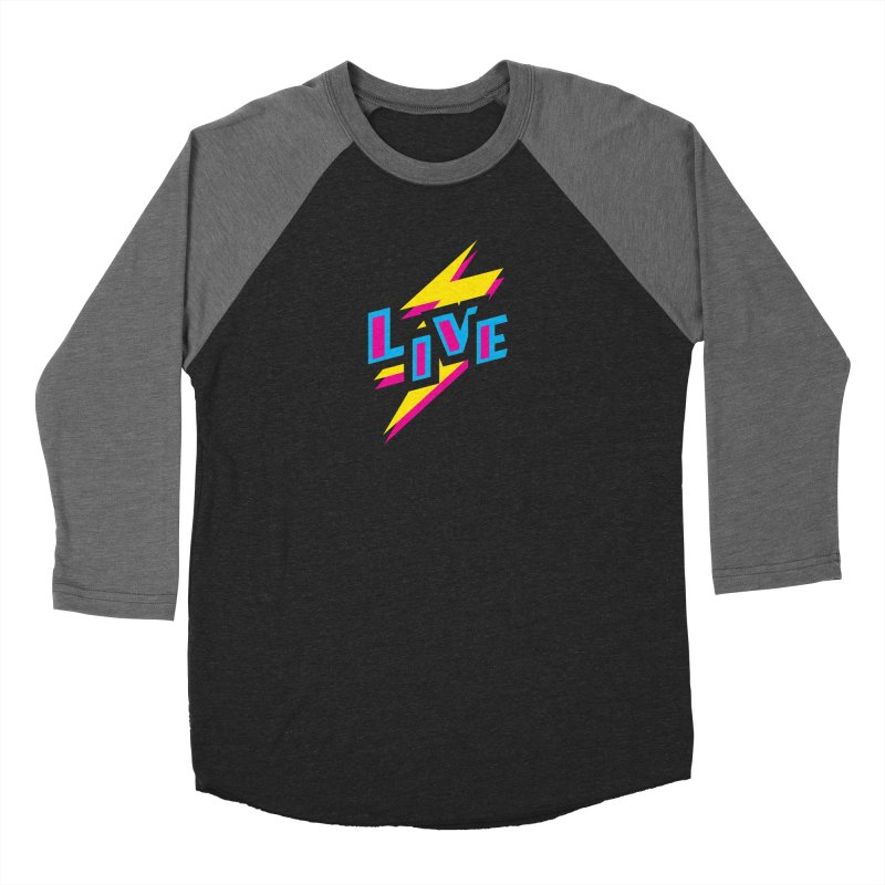 LIVE Women's Baseball Triblend Longsleeve T-Shirt by Rocket Artist Shop