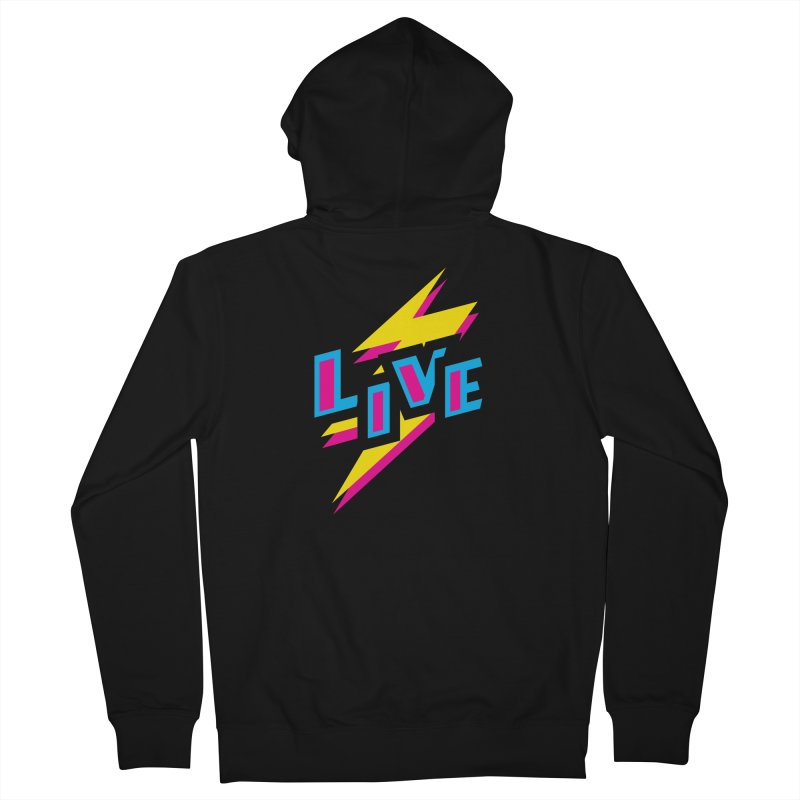 LIVE Women's Zip-Up Hoody by Rocket Artist Shop