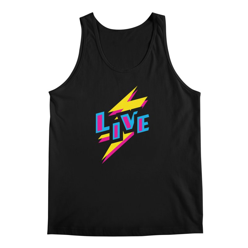 LIVE Men's Tank by Rocket Artist Shop