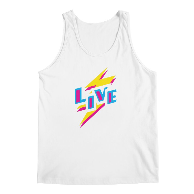 LIVE Men's Tank by Rocket Artist Shop