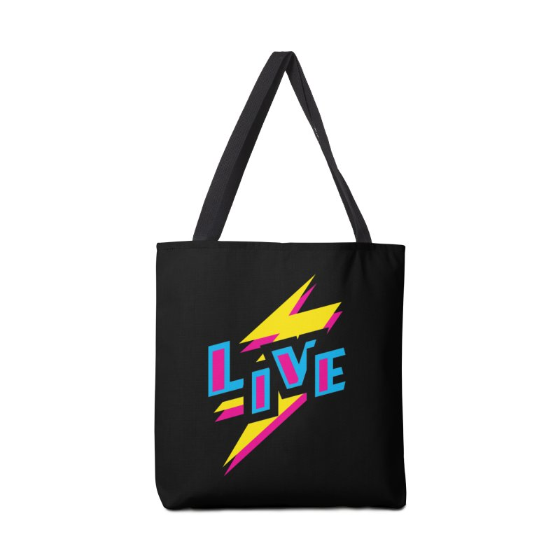 LIVE Accessories Bag by Rocket Artist Shop