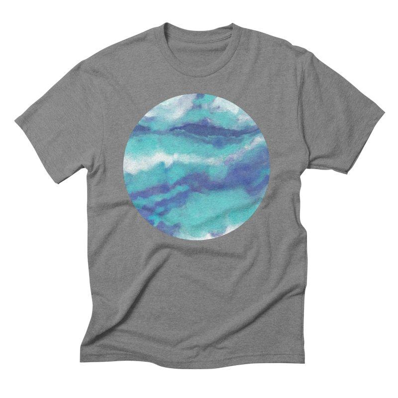 Ocean Sky Men's T-Shirt by Rocket Artist Shop