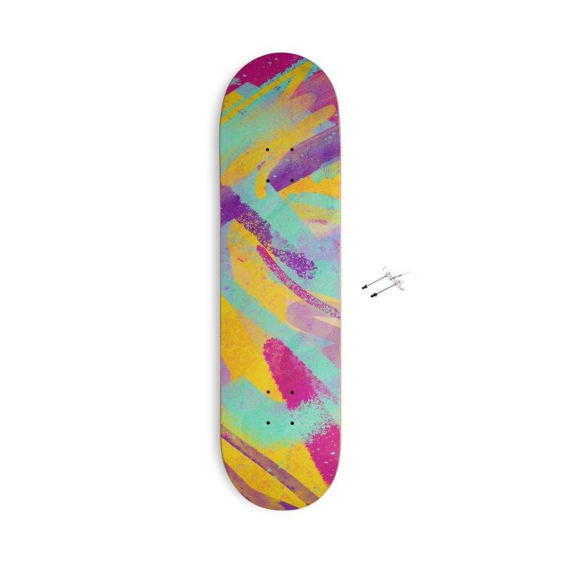 OCHENTAS Accessories Skateboard by Rocket Artist Shop