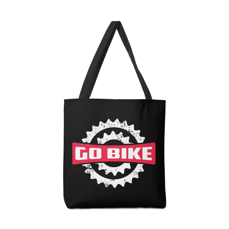 GO BIKE Accessories Bag by Rocket Artist Shop