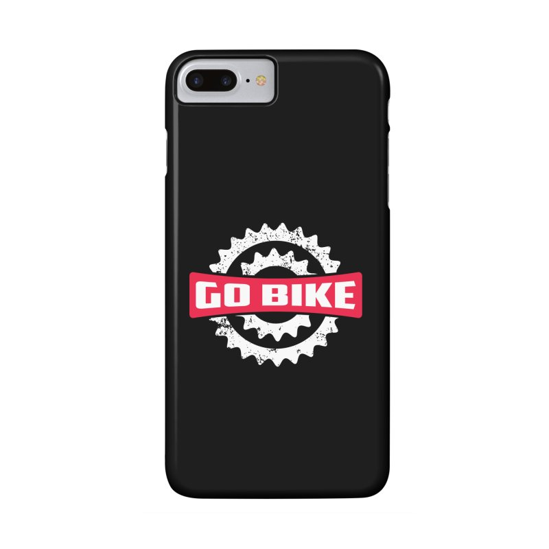 GO BIKE Accessories Phone Case by Rocket Artist Shop