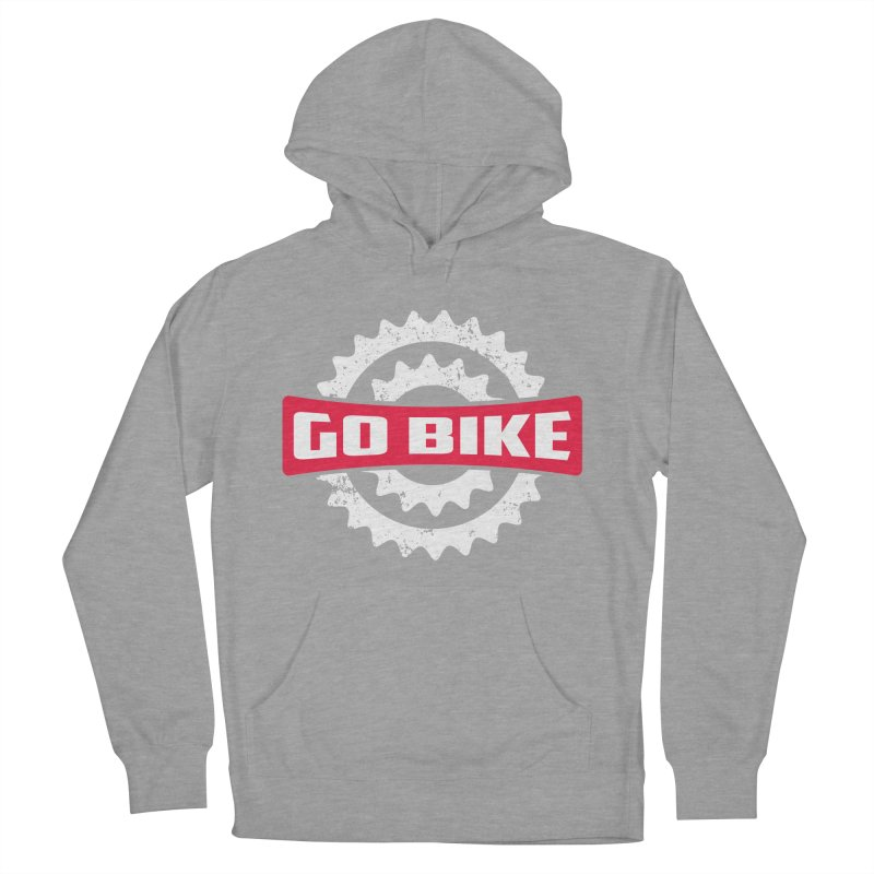 GO BIKE Men's Pullover Hoody by Rocket Artist Shop