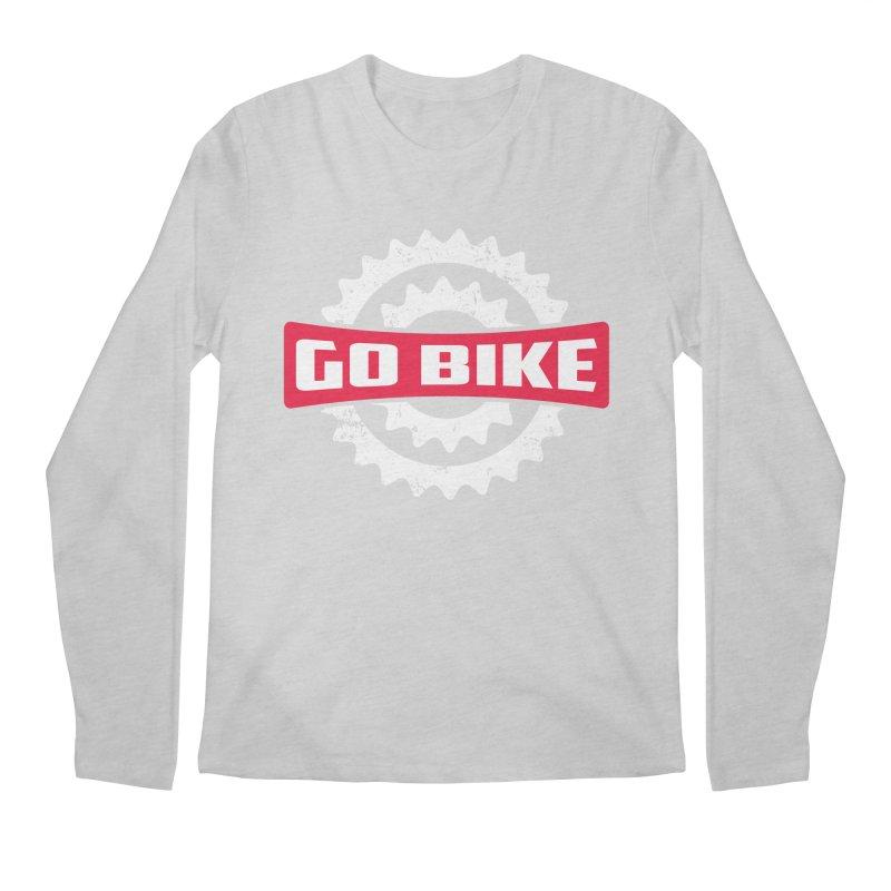 GO BIKE Men's Longsleeve T-Shirt by Rocket Artist Shop