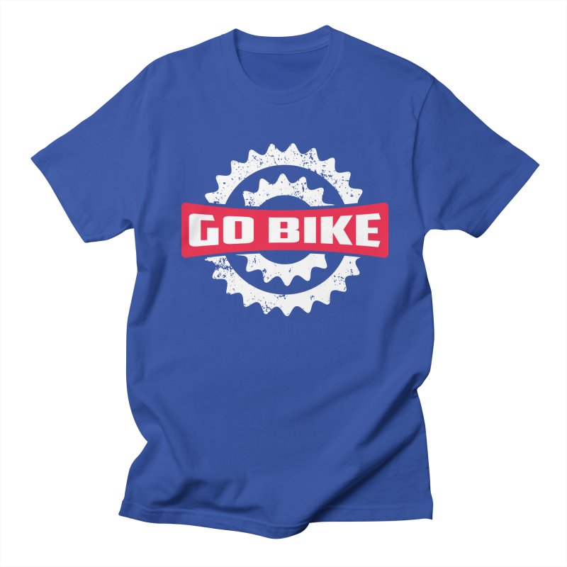 GO BIKE Men's T-shirt by Rocket Artist Shop