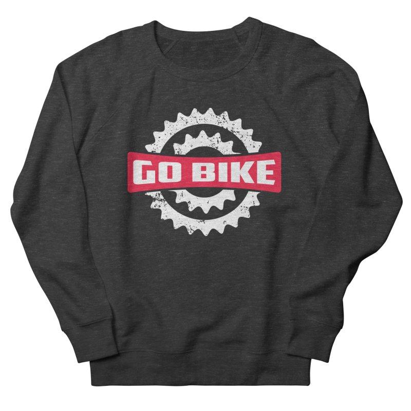 GO BIKE Women's Sweatshirt by Rocket Artist Shop
