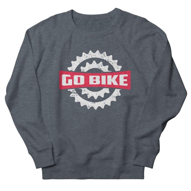 GO BIKE Men's Sweatshirt by Rocket Artist Shop