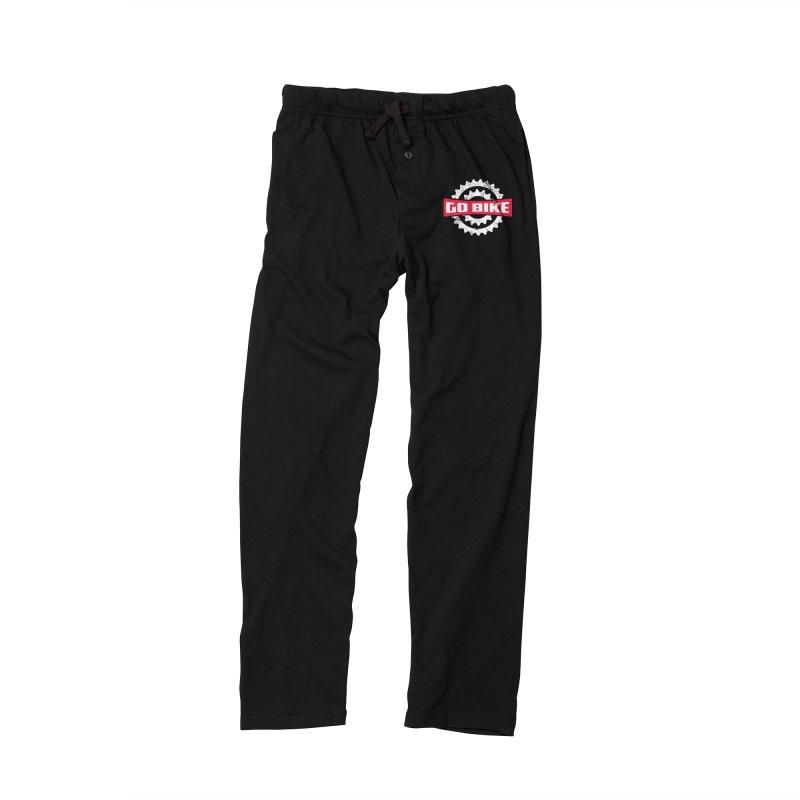 GO BIKE Women's Lounge Pants by Rocket Artist Shop