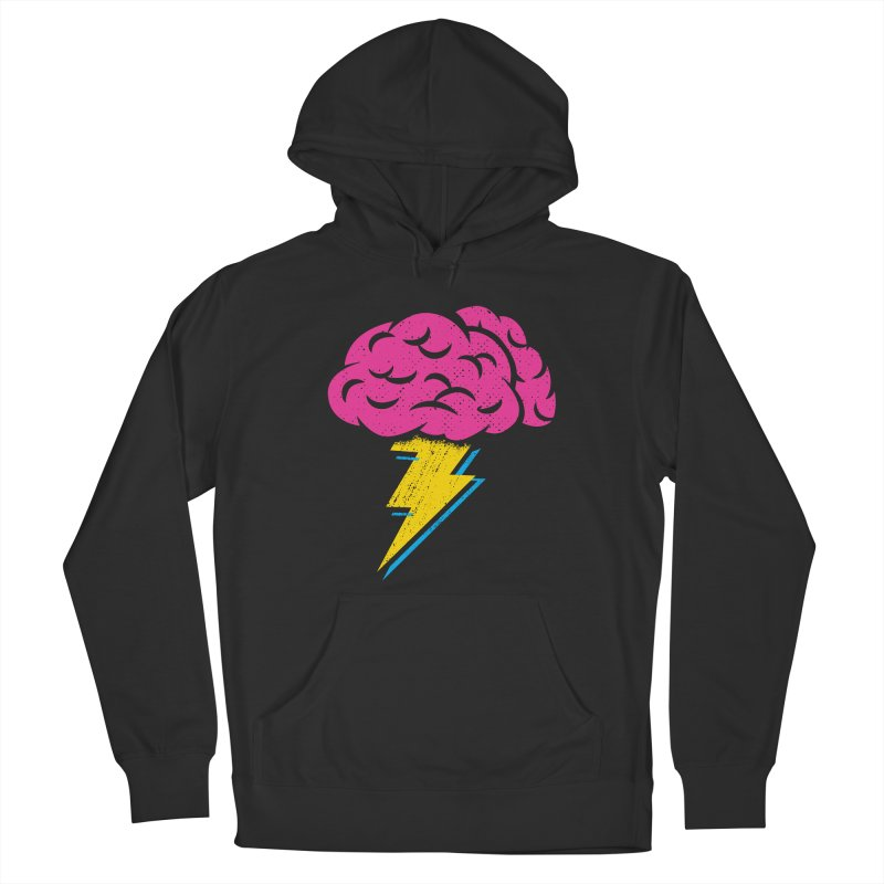 Brainstorm Men's French Terry Pullover Hoody by Rocket Artist Shop