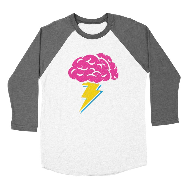 Brainstorm Women's Baseball Triblend Longsleeve T-Shirt by Rocket Artist Shop