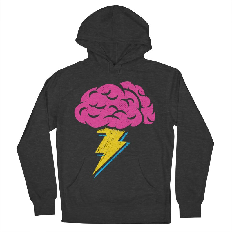 Brainstorm Women's French Terry Pullover Hoody by Rocket Artist Shop