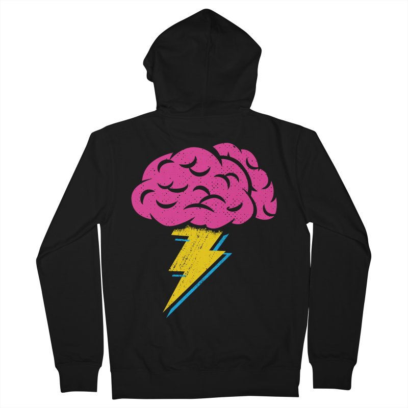 Brainstorm Men's Zip-Up Hoody by Rocket Artist Shop