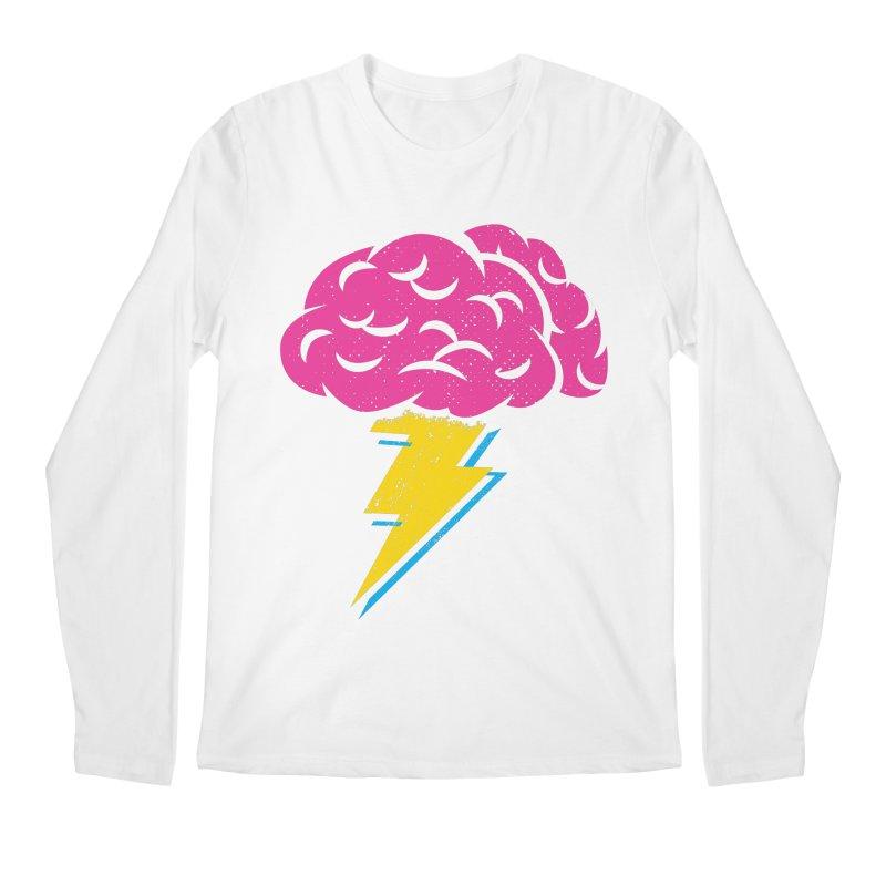 Brainstorm Men's Longsleeve T-Shirt by Rocket Artist Shop