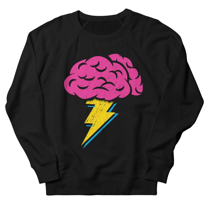 Brainstorm Men's Sweatshirt by Rocket Artist Shop