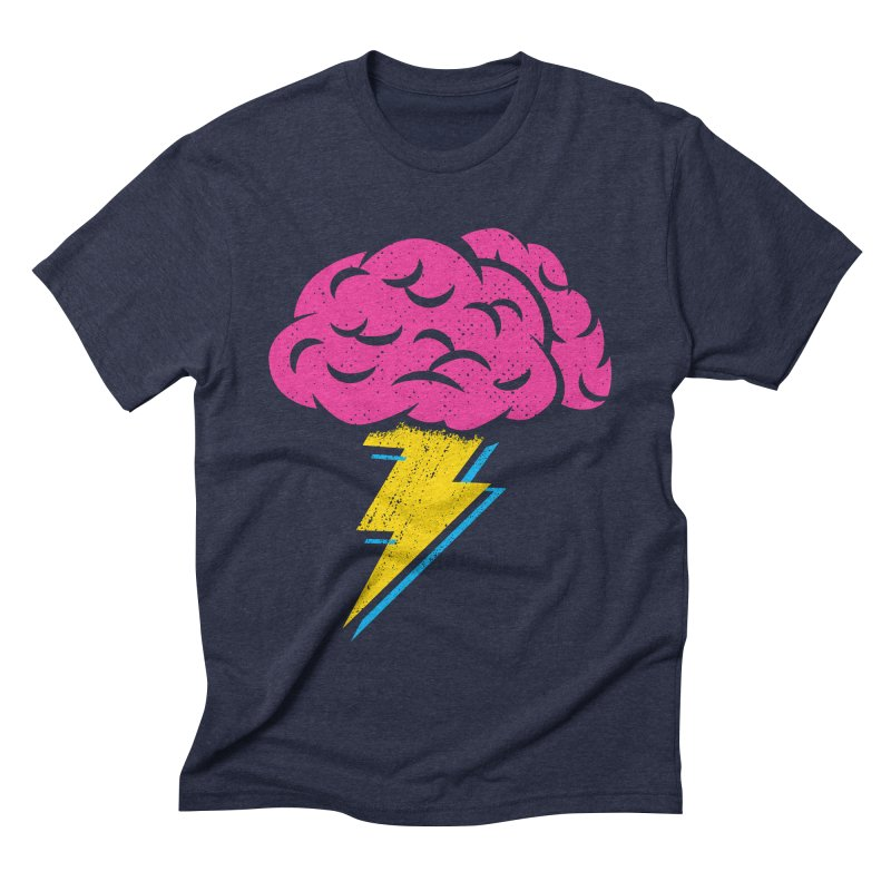 Brainstorm Men's Triblend T-Shirt by Rocket Artist Shop