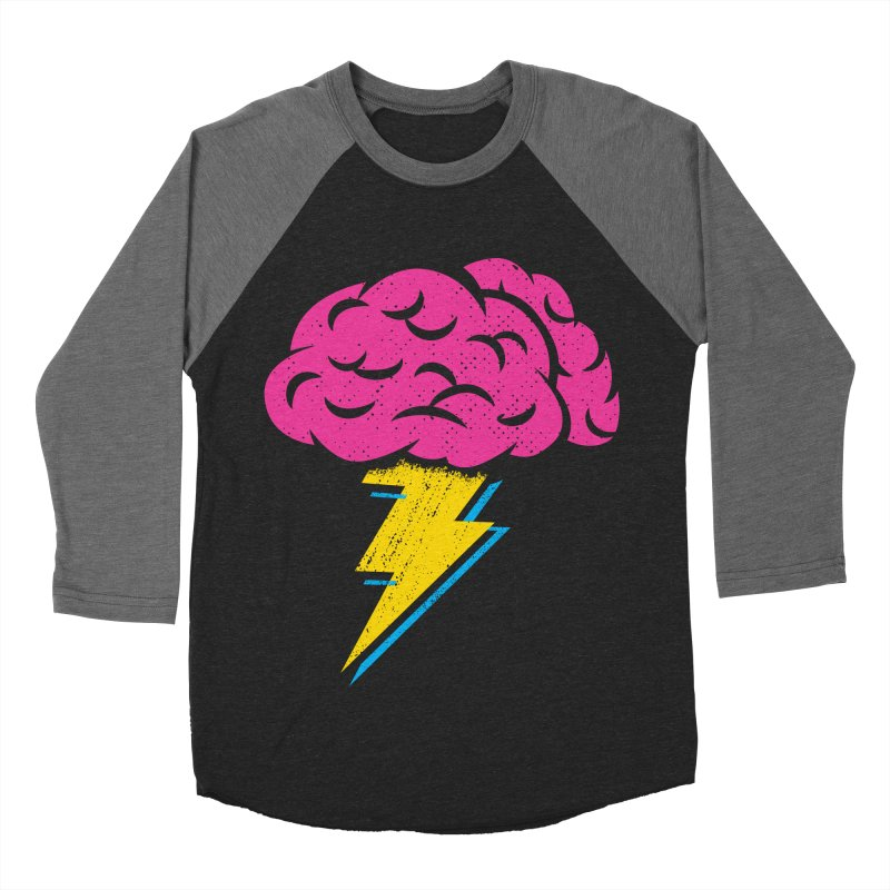 Brainstorm Men's Baseball Triblend Longsleeve T-Shirt by Rocket Artist Shop