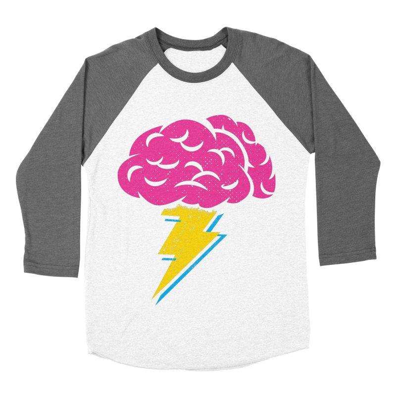 Brainstorm Men's Baseball Triblend Longsleeve T-Shirt by Rocket Artist Shop