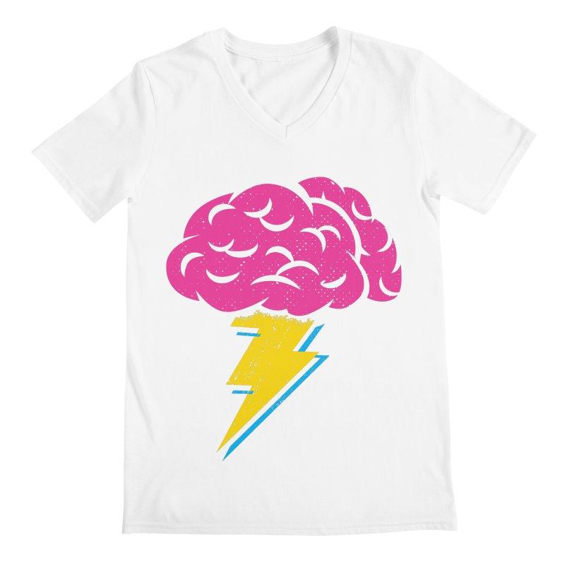Brainstorm Men's V-Neck by Rocket Artist Shop