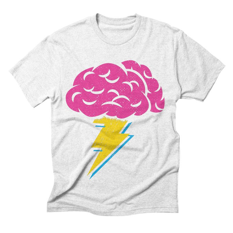 Brainstorm Men's Triblend T-shirt by Rocket Artist Shop