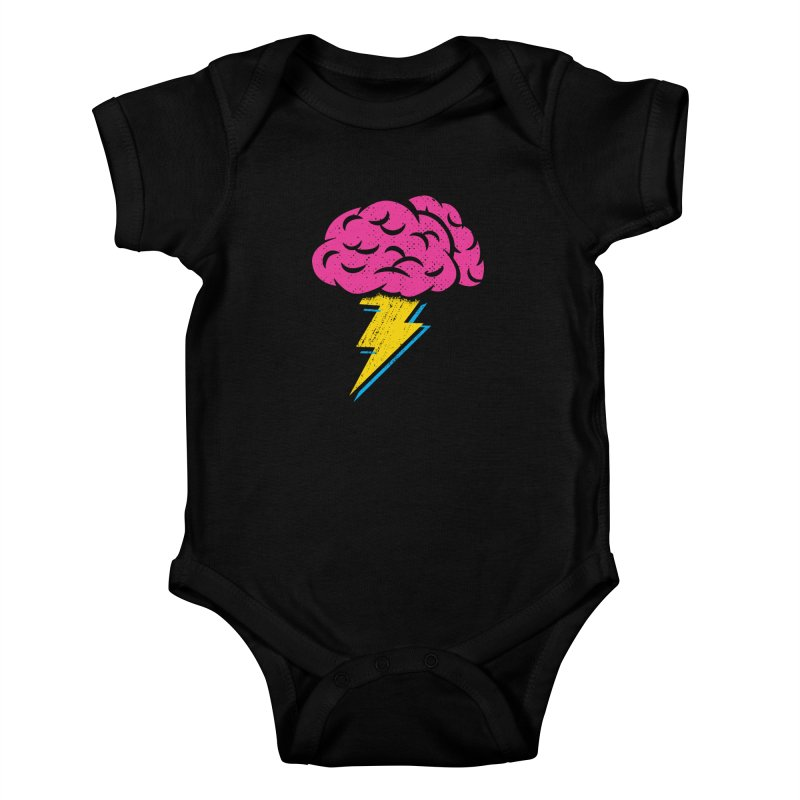 Brainstorm Kids Baby Bodysuit by Rocket Artist Shop