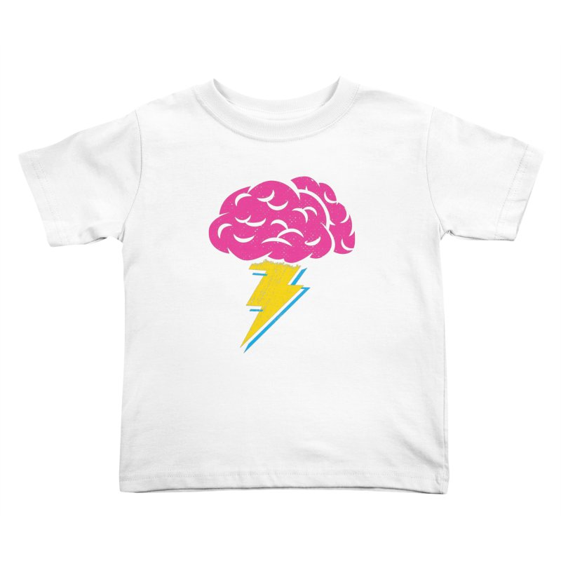 Brainstorm Kids Toddler T-Shirt by Rocket Artist Shop