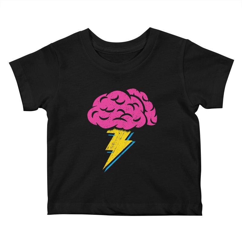 Brainstorm Kids Baby T-Shirt by Rocket Artist Shop