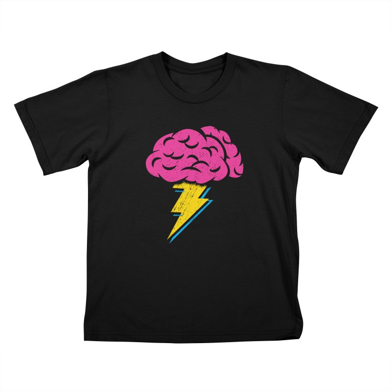 Brainstorm Kids T-Shirt by Rocket Artist Shop