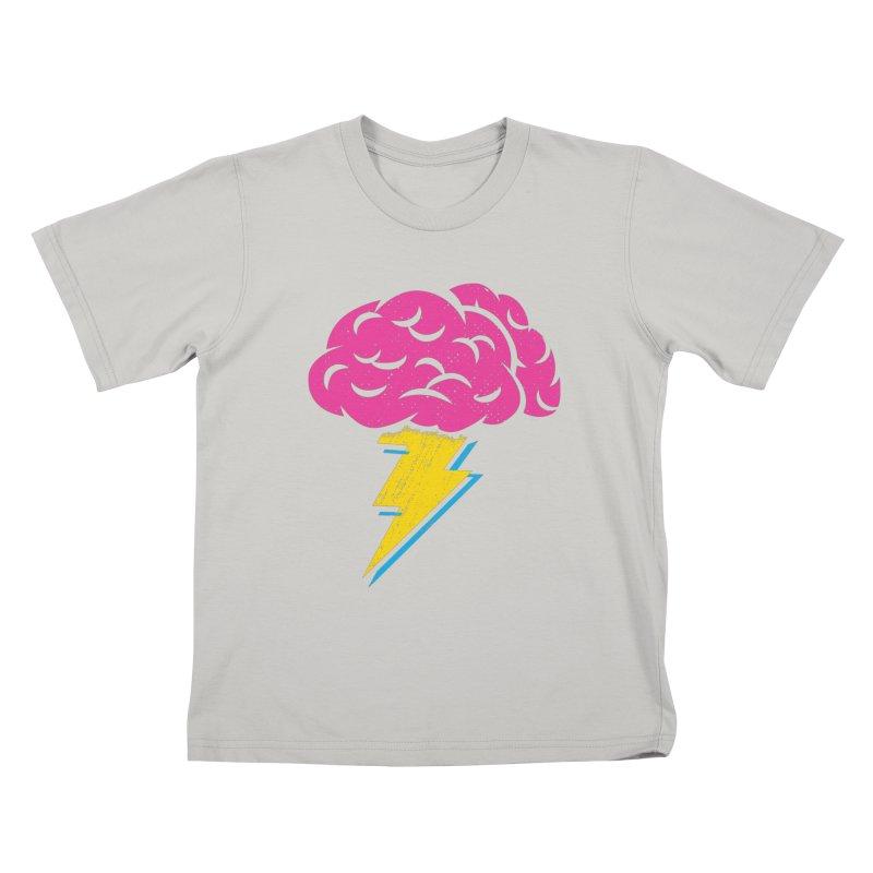 Brainstorm Kids T-shirt by Rocket Artist Shop