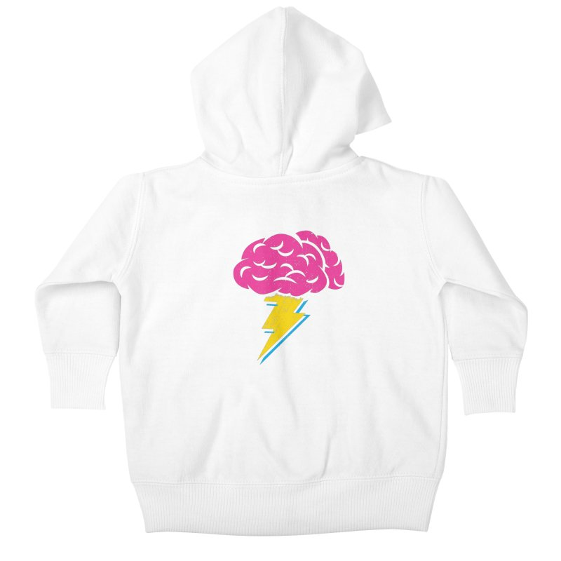 Brainstorm Kids Baby Zip-Up Hoody by Rocket Artist Shop