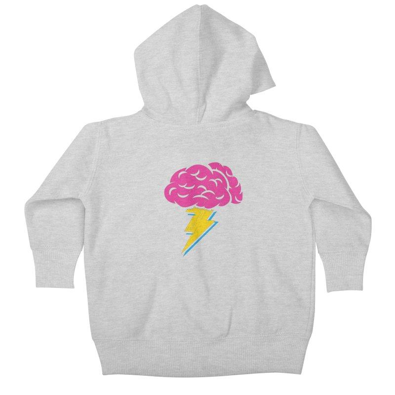 Brainstorm Kids Baby Zip-Up Hoody by Rocket Artist Shop