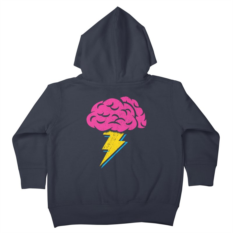 Brainstorm Kids Toddler Zip-Up Hoody by Rocket Artist Shop