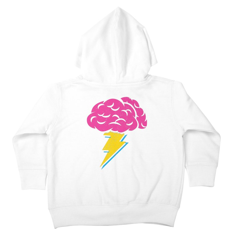 Brainstorm Kids Toddler Zip-Up Hoody by Rocket Artist Shop