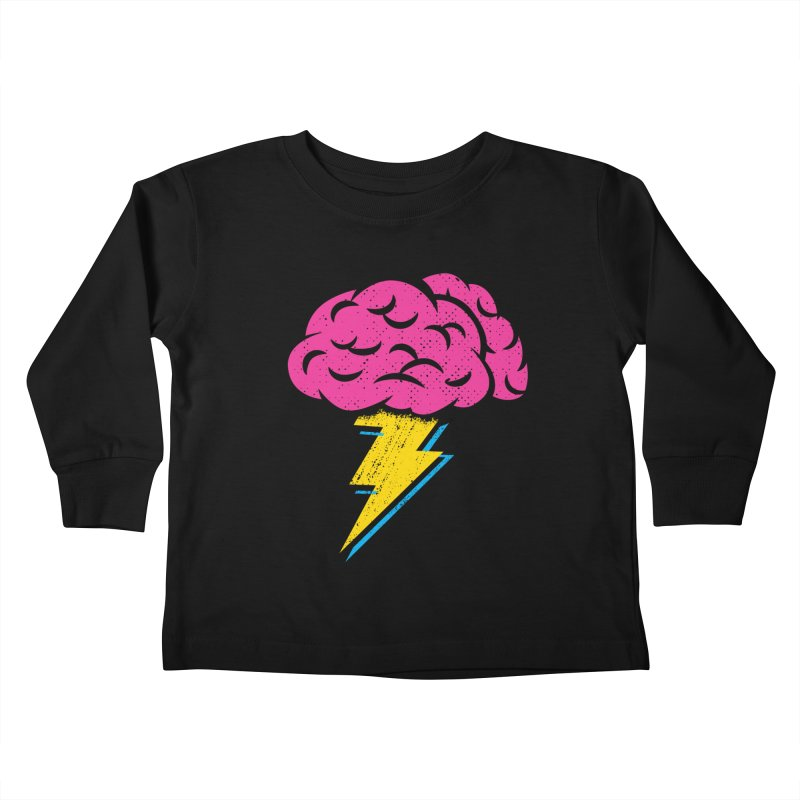 Brainstorm Kids Toddler Longsleeve T-Shirt by Rocket Artist Shop