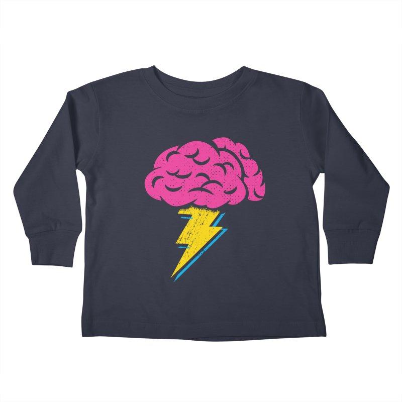 Brainstorm Kids Toddler Longsleeve T-Shirt by Rocket Artist Shop