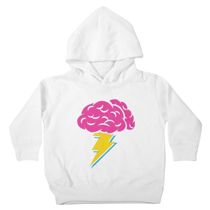 Brainstorm Kids Toddler Pullover Hoody by Rocket Artist Shop